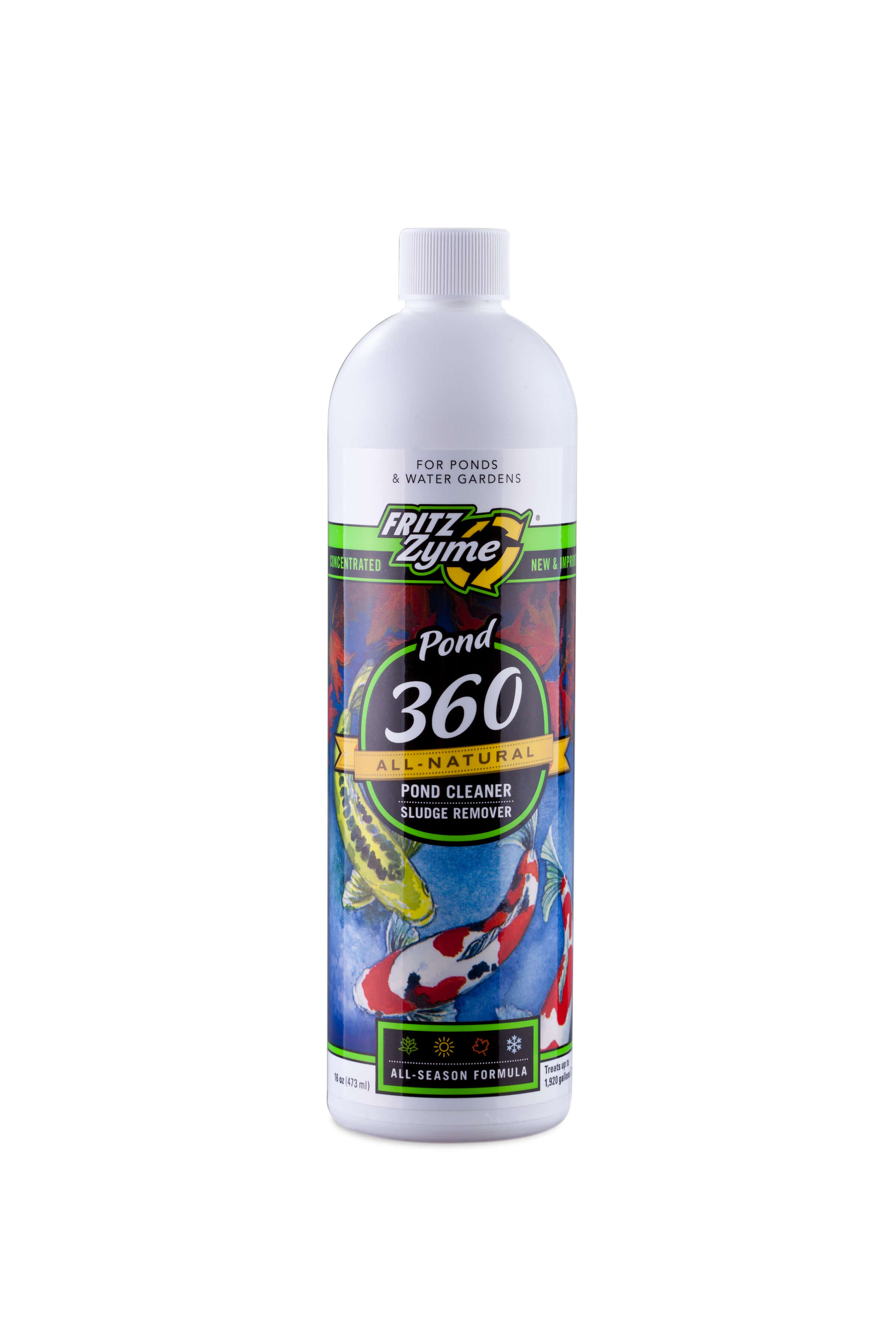 Pond FitzZyme 360 Biological Pond Cleaner 16oz