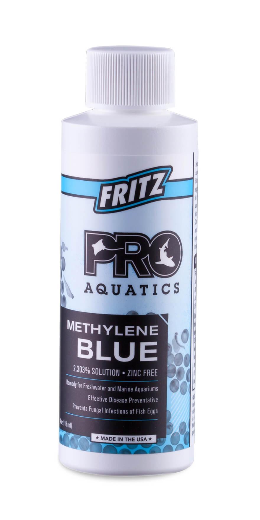 Fritz medications for Methylene blue fish