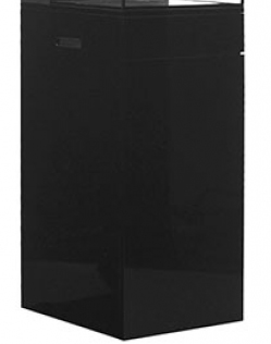 AIO 25 Gallon Black Cabinet Stand