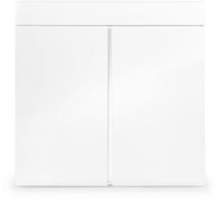 AIO 45 Gallon White Cabinet Stand