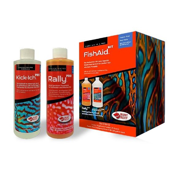 Reef Fish Aid Pro Combo Pack 8oz