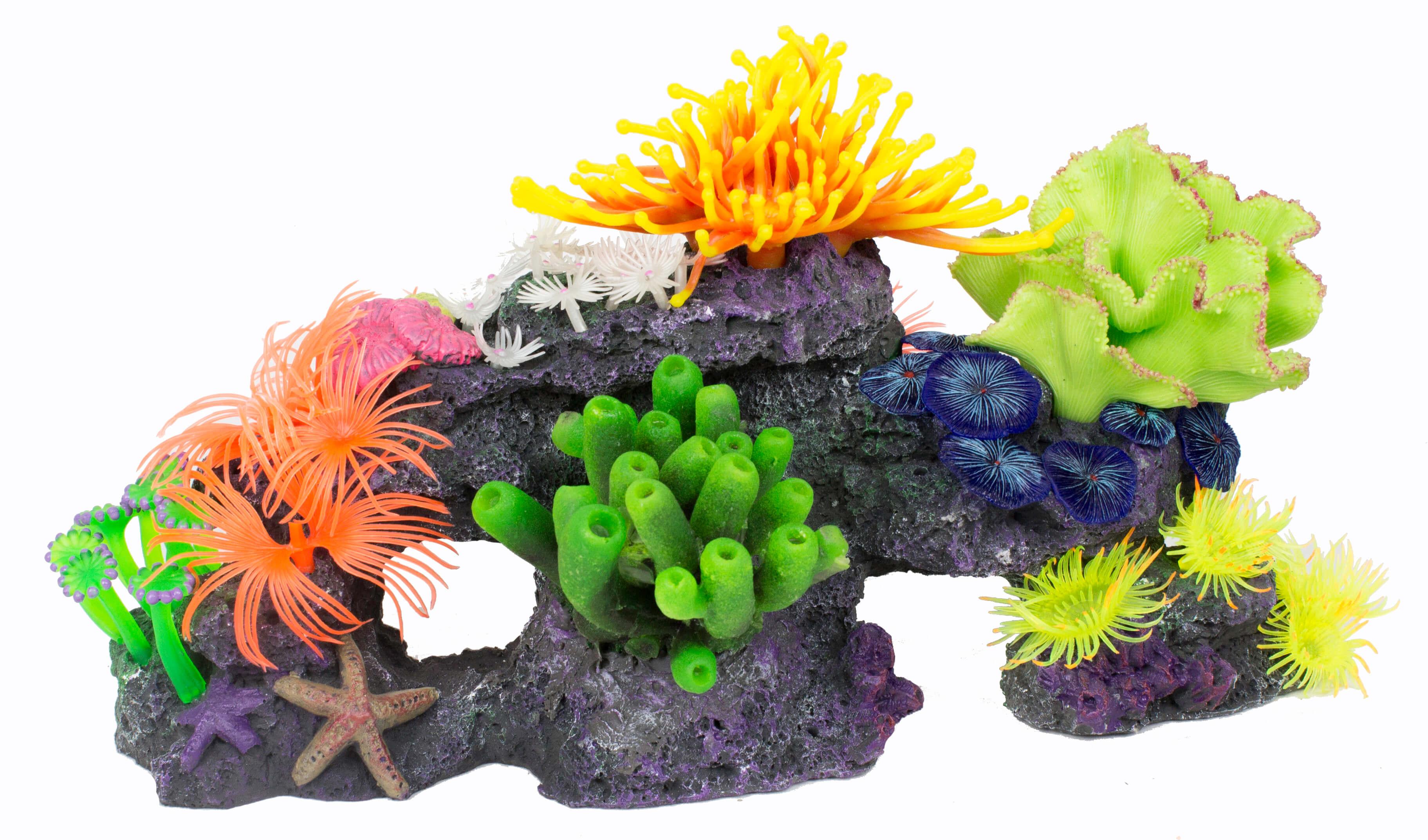 coral hanging concept size ebay of decor marvelous full bridge fish for terrarium decoration aquarium tank photos